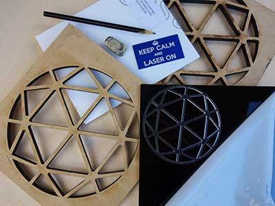 Laser cut prototypes | Etch and Cut
